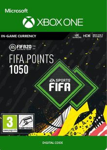 FIFA 20 - 1050 FUT Points Xbox One billig Schlüssel zum Download