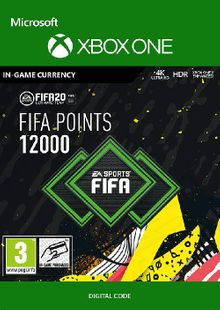 FIFA 20 - 12000 FUT Points Xbox One billig Schlüssel zum Download