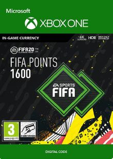 FIFA 20 - 1600 FUT Points Xbox One billig Schlüssel zum Download