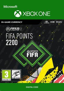 FIFA 20 - 2200 FUT Points Xbox One billig Schlüssel zum Download
