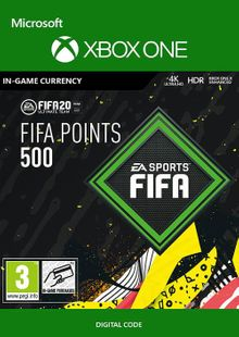 FIFA 20 - 500 FUT Points Xbox One billig Schlüssel zum Download