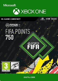 FIFA 20 - 750 FUT Points Xbox One cheap key to download