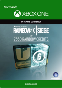 Tom Clancy's Rainbow Six Siege 7560 Credits Pack Xbox One billig Schlüssel zum Download
