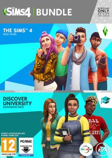 The Sims 4 + Discover University Bundle PC clé pas cher à télécharger