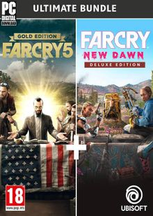 Far Cry New Dawn + Far Cry 5 - Ultimate Bundle PC cheap key to download