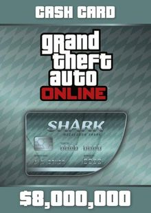 Grand Theft Auto Online (GTA V 5): Megalodon Shark Cash Card PC cheap key to download