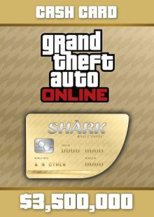 Grand Theft Auto Online (GTA V 5): Whale Shark Cash Card PC clé pas cher à télécharger