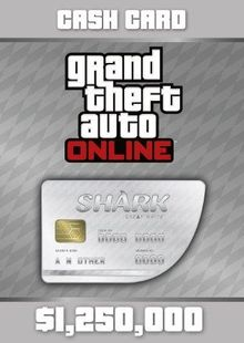 Grand Theft Auto Online (GTA V 5): Great White Shark Cash Card PC billig Schlüssel zum Download