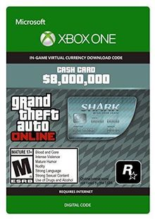 GTA V 5 Megalodon Shark Cash Card - Xbox One Digital Code cheap key to download