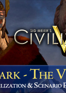 Civilization V Civ and Scenario Pack Denmark (The Vikings) PC cheap key to download