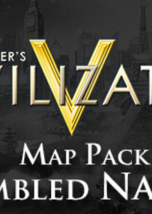 Civilization V Scrambled Nations Map Pack PC cheap key to download