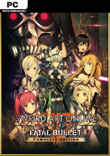 Sword Art Online Fatal Bullet - Complete Edition PC clé pas cher à télécharger