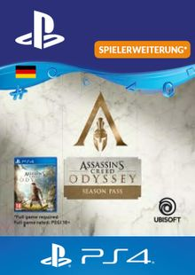 Assasins Creed Odyssey Season Pass PS4 (Germany) cheap key to download