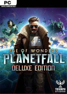 Age of Wonders Planetfall Deluxe Edition PC cheap key to download