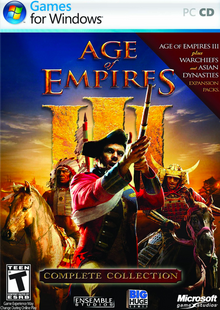 Age of Empires III 3: Complete Collection PC cheap key to download