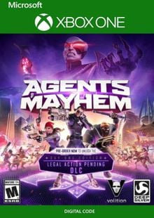 Agents of Mayhem - Total Mayhem Bundle Xbox One (UK) cheap key to download