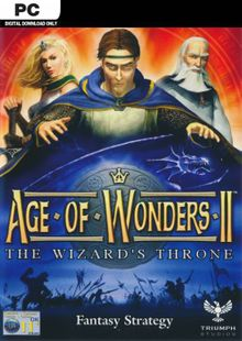 Age of Wonders II 2: The Wizards Throne PC cheap key to download