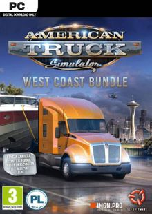 American Truck Simulator - West Coast Bundle PC cheap key to download