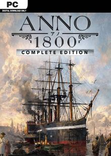 Anno 1800 - Complete Edition PC (EU) billig Schlüssel zum Download
