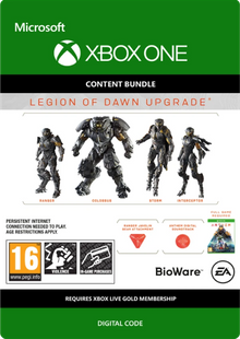Anthem Legion of Dawn Upgrade Xbox One billig Schlüssel zum Download