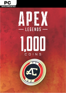 Apex Legends 1000 Coins VC PC cheap key to download
