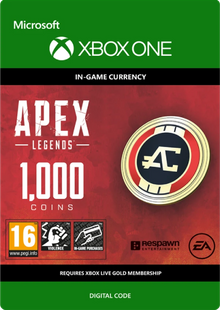 Apex Legends 1000 Coins Xbox One billig Schlüssel zum Download