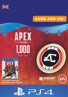 Apex Legends 1000 Coins PS4 (UK) cheap key to download