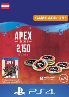 Apex Legends 2150 Coins PS4 (Austria) billig Schlüssel zum Download