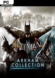 Batman: Arkham Collection PC cheap key to download