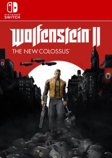 Wolfenstein II 2: The New Colossus Switch clé pas cher à télécharger