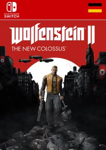 Wolfenstein II 2 The New Colossus Switch (Germany) cheap key to download
