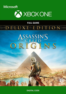 Assassins Creed Origins Deluxe Edition Xbox One billig Schlüssel zum Download