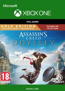 Assassin's Creed Odyssey : Gold Edition Xbox One (UK) cheap key to download