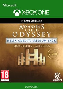 Assassins Creed Odyssey Helix Credits Medium Pack Xbox One billig Schlüssel zum Download