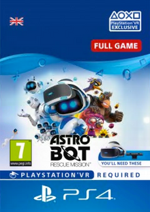 Astro Bot Rescue Mission VR PS4 cheap key to download
