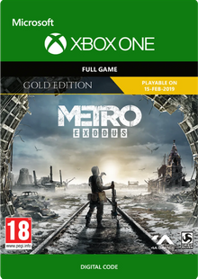 Metro Exodus Gold Xbox One billig Schlüssel zum Download