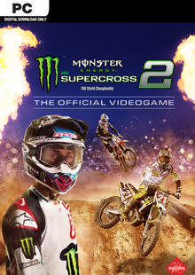 Monster Energy Supercross - The Official Videogame 2 PC clé pas cher à télécharger