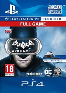 Batman Arkham VR PS4 cheap key to download
