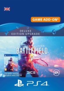 Battlefield V 5 Deluxe Edition Upgrade PS4 cheap key to download