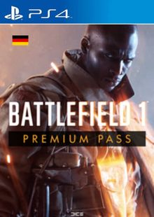 Battlefield 1 Premium Pass PS4 (Germany) cheap key to download