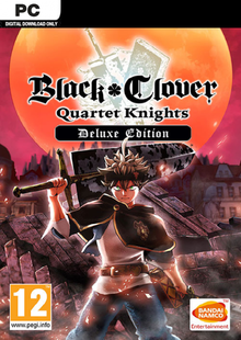 Black Clover: Quartet Knights Deluxe Edition PC cheap key to download