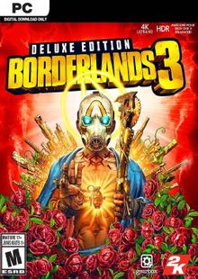Borderlands 3 - Deluxe Edition PC (Steam) cheap key to download