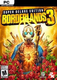 Borderlands 3 - Super Deluxe Edition PC (Steam) billig Schlüssel zum Download