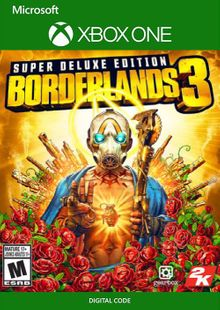 Borderlands 3: Super Deluxe Edition Xbox One billig Schlüssel zum Download