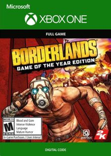 Borderlands: Game of the Year Edition Xbox One (UK) cheap key to download