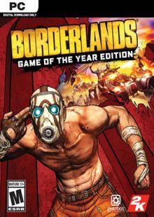 Borderlands Game of the Year Enhanced PC (EU) clé pas cher à télécharger