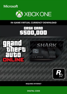 GTA Online Bull Shark Cash Card - $500,000 Xbox One billig Schlüssel zum Download