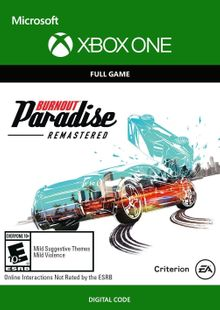 Burnout Paradise Remastered Xbox One billig Schlüssel zum Download