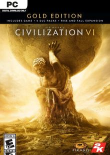 Sid Meier's Civilization VI 6 Gold Edition PC (EU) cheap key to download
