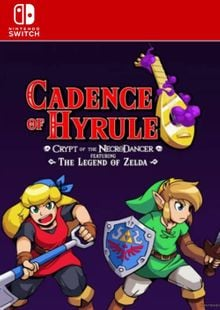 Cadence of Hyrule - Crypt of the NecroDancer Featuring The Legend of Zelda Switch clé pas cher à télécharger